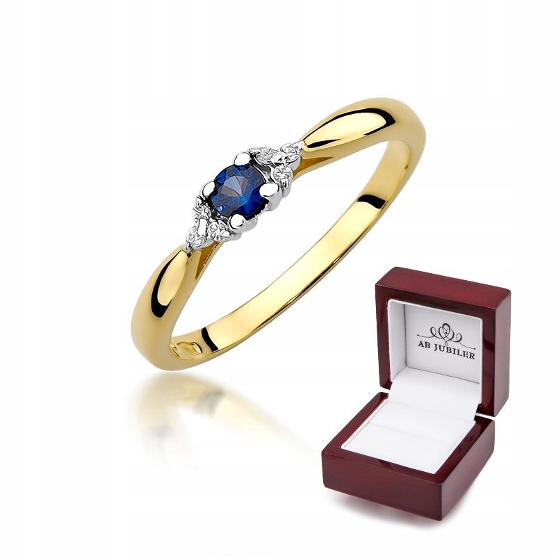 Zásnubný prsteň id-428 Sapphire Diamanty