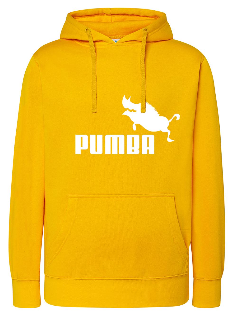 Damska Bluza z kapturem Pumba Jak Puma XXL Prezent