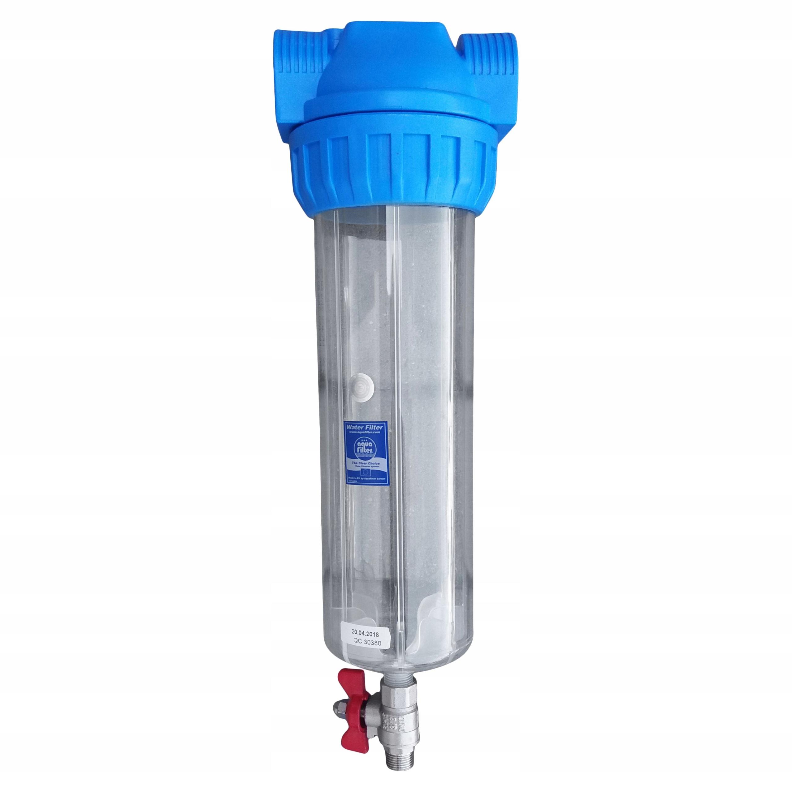 Filtr wody samoczyszczący Aquafilter 50 mik. = Marka Aquafilter