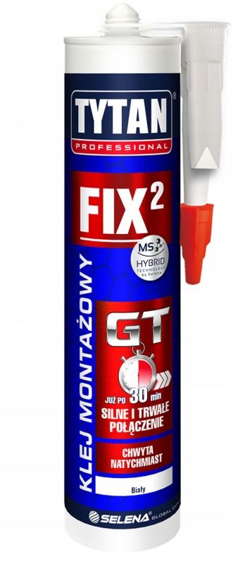 титан Fix2 GT Клей монтажный PROFESSIONAL 290ml