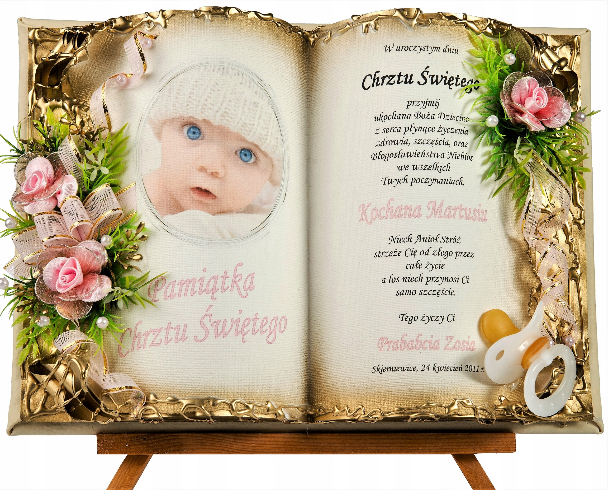 Item Souvenirs of Holy Baptism for boy , girls