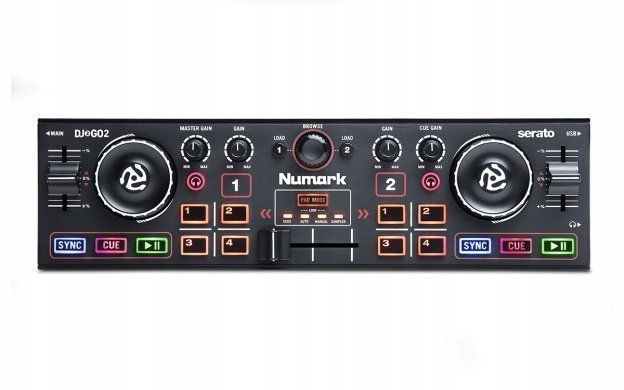 Item DJ2GO2 Numark DJ controller
