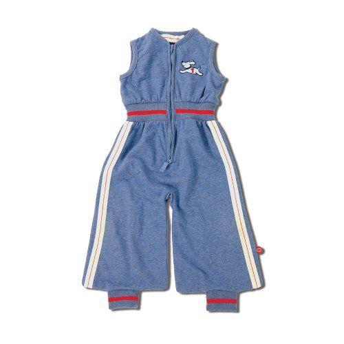 Radosť obálky v štýle retro Baby Boum 0-9 m Modrá