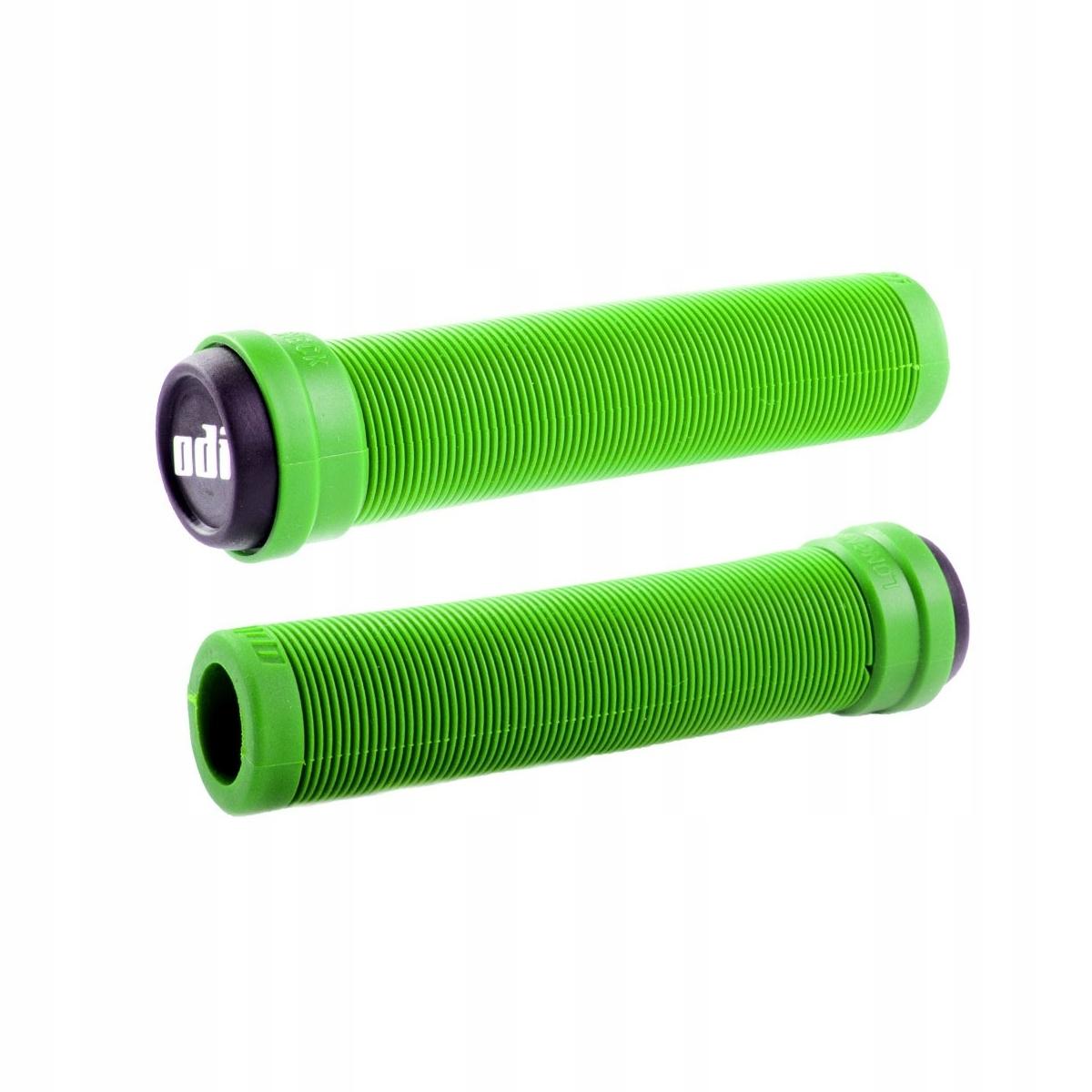 Gripy ODI Longneck Soft FL Gripy zelené