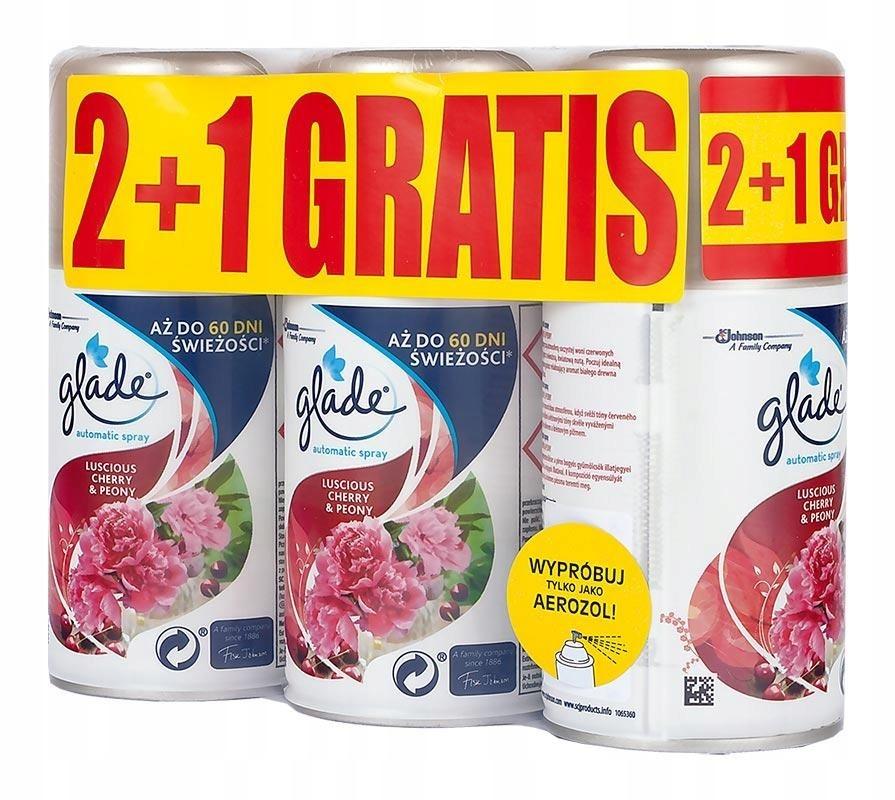 Запас GLADE BY BRISE Automatic Spray 3 x 269 мл