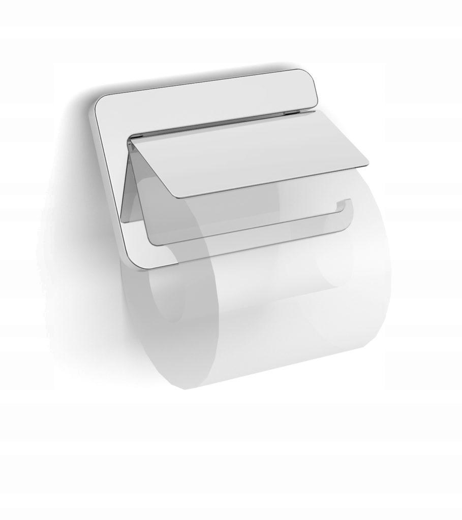 ŁÓDŹ Stella NEXT chrómovaný držiak na toaletný papier