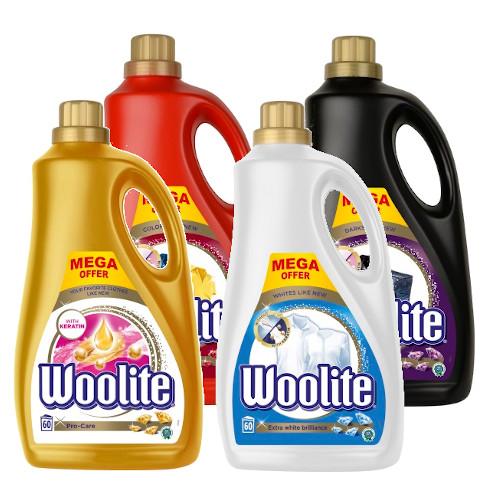 Woolite Pro White Dark Color Жидкость для Стирки 4x3,6l