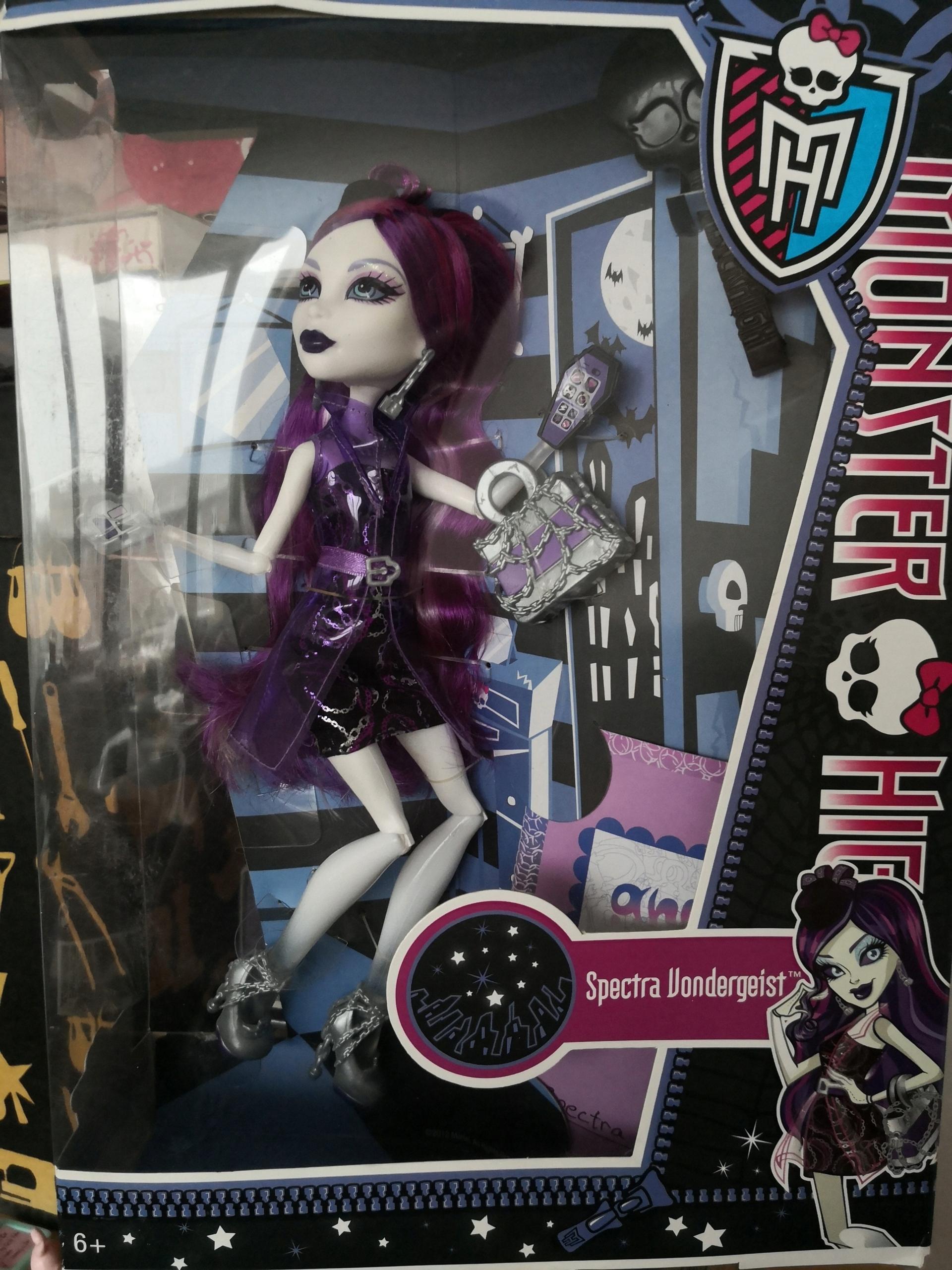 Monster High SPECTRA VONDERGEIST Unikátny