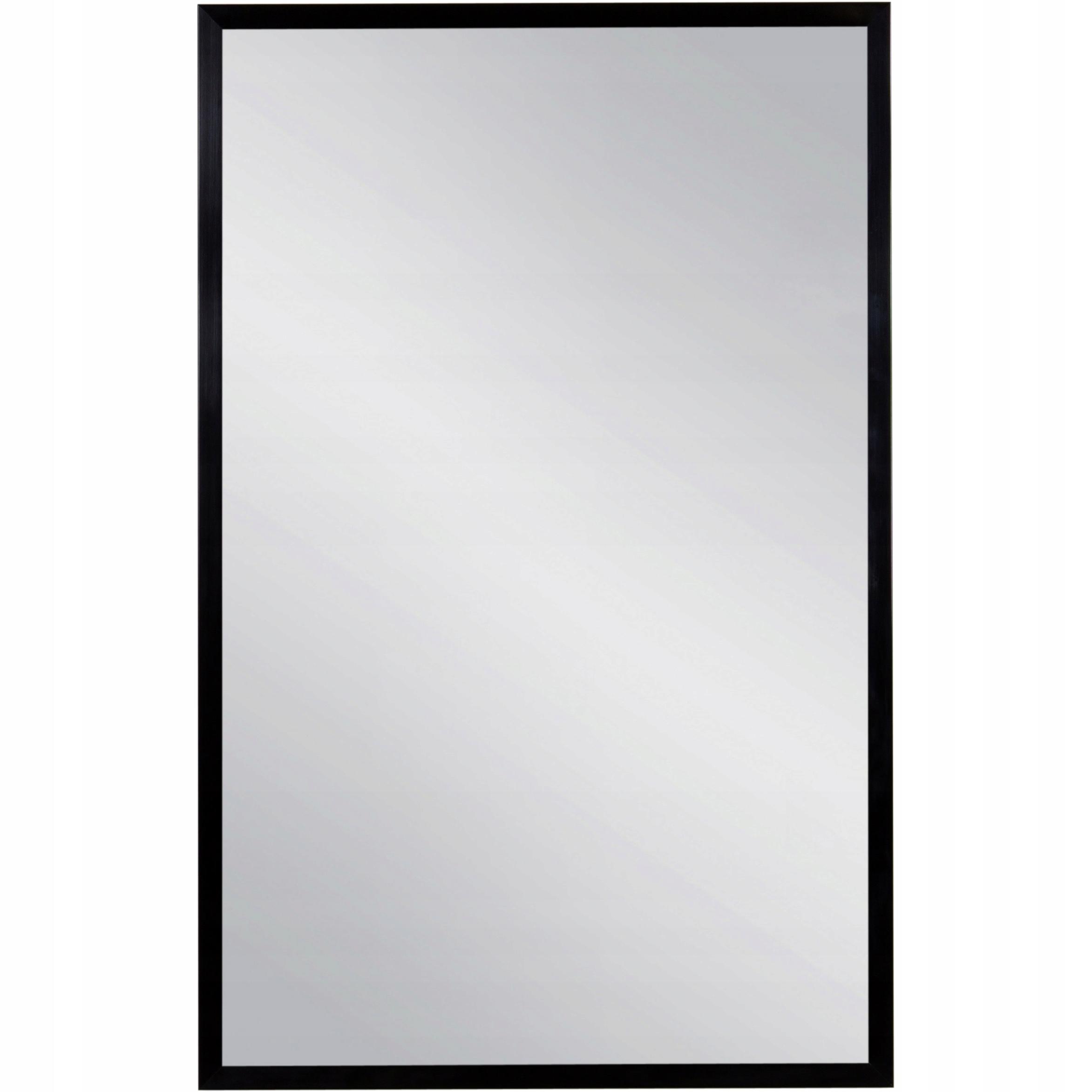 Mirror black ramenný hliníkové kúpeľňa 50x80