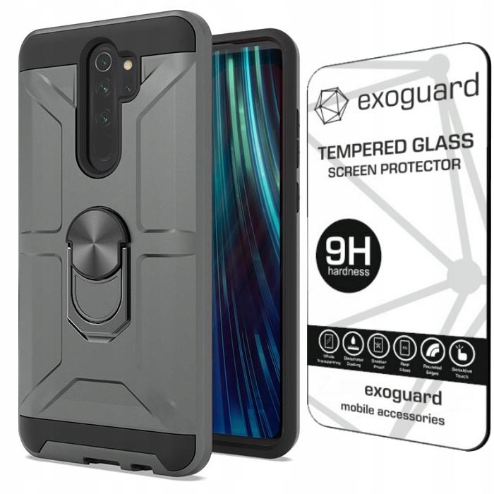 Exoguard - Etui+szkło Do Xiaomi Redmi Note 8 Pro