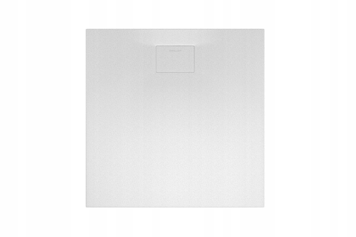 VÝBORNÝ sprchový žľab LAVANO kompozitný 100x100cm biely