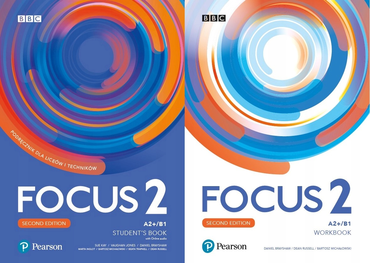 Focus 2 KOMPLET Pearson i CD