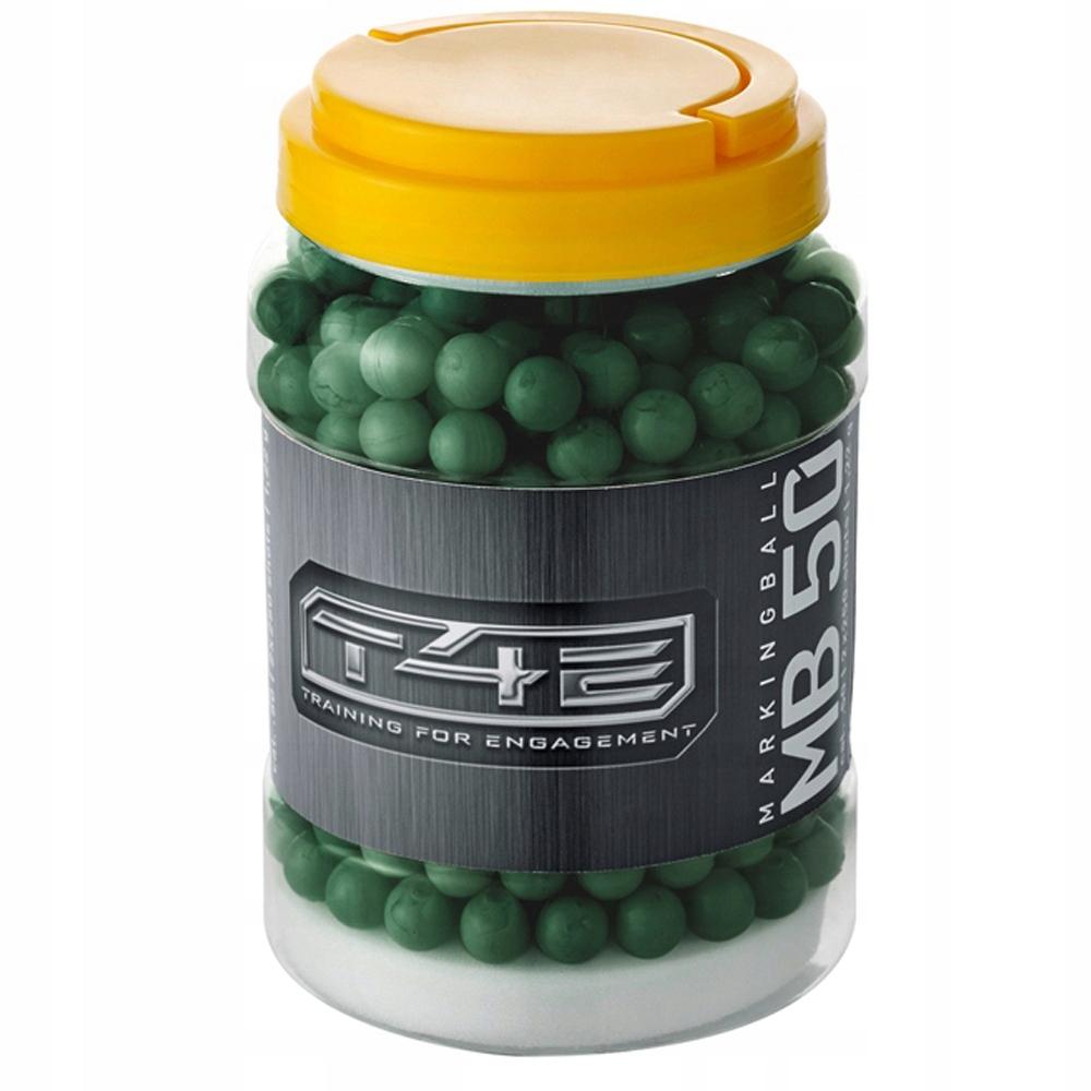 Guľky markujące Zelená HDR 50 cal .50 palce - 500 Ks