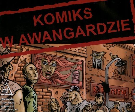 Комиксы в каталоге авангардной выставки