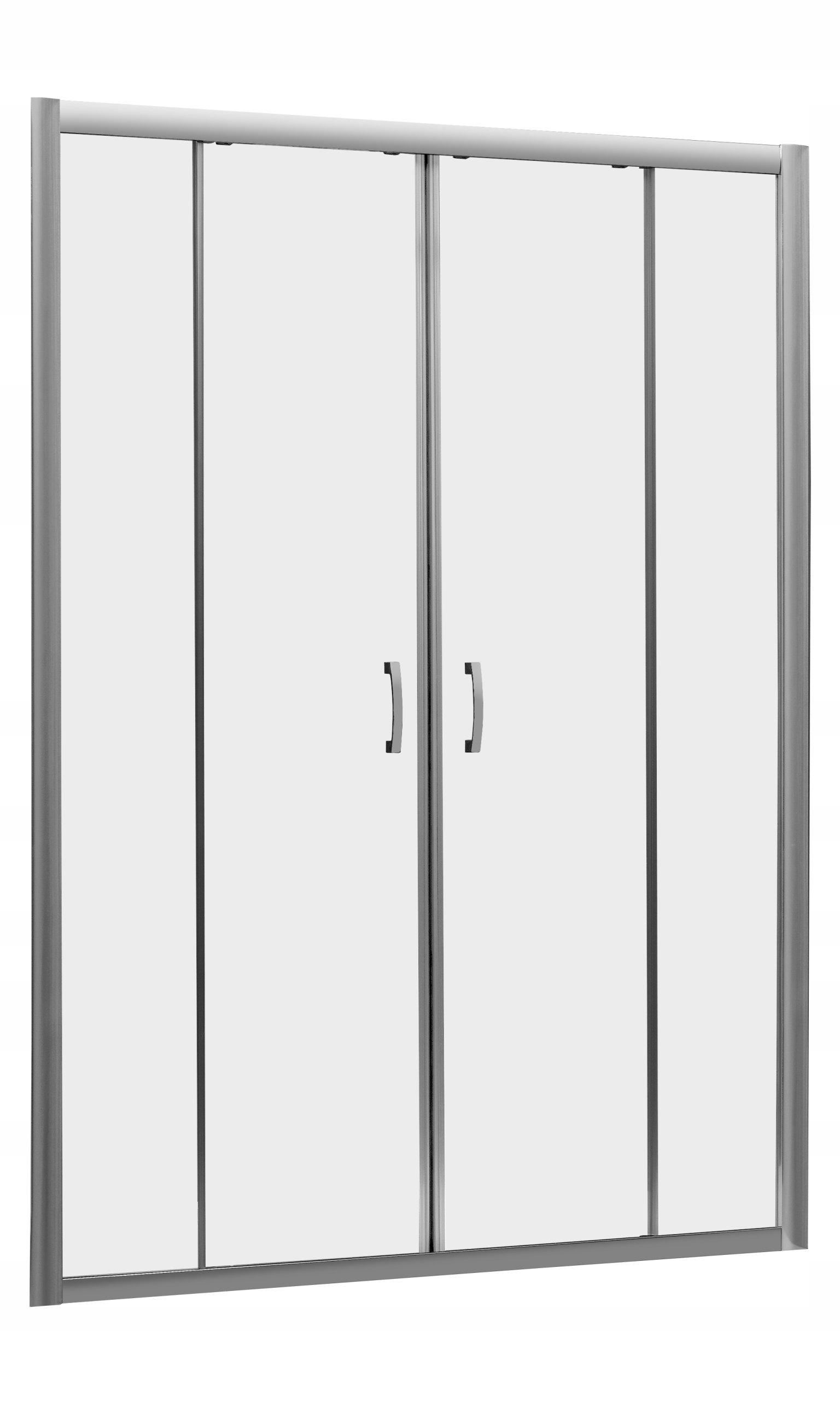 Priehľadné dvere Premium Plus DWD 140x190 cm RADAWAY