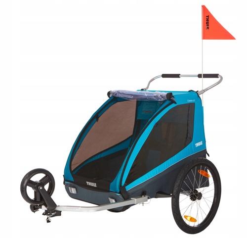 Przyczepka rowerowa podwójna THULE Coaster XT