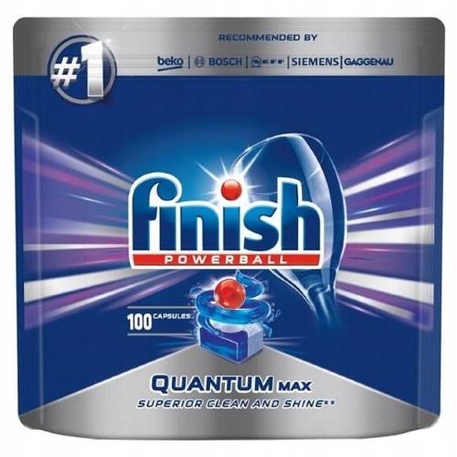 Finish Quantum Капсулы для Посудомоечной машины 100 шт