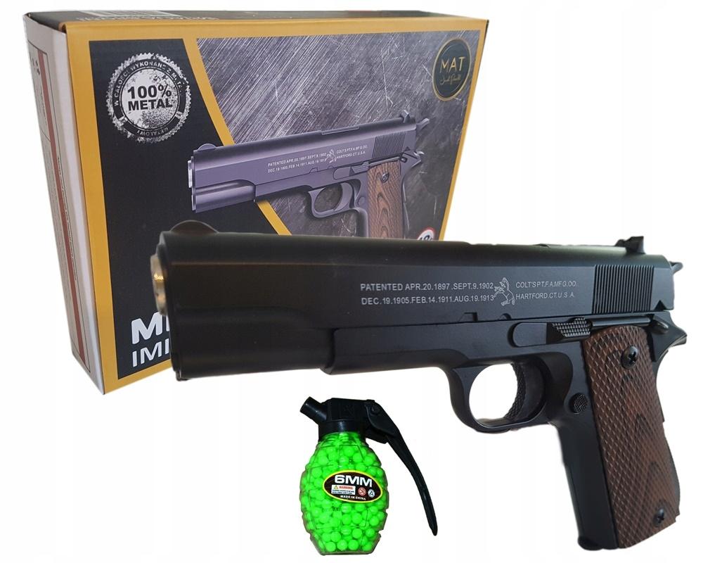 Pušková puška z kovu MPK-C8 + Puška + gule