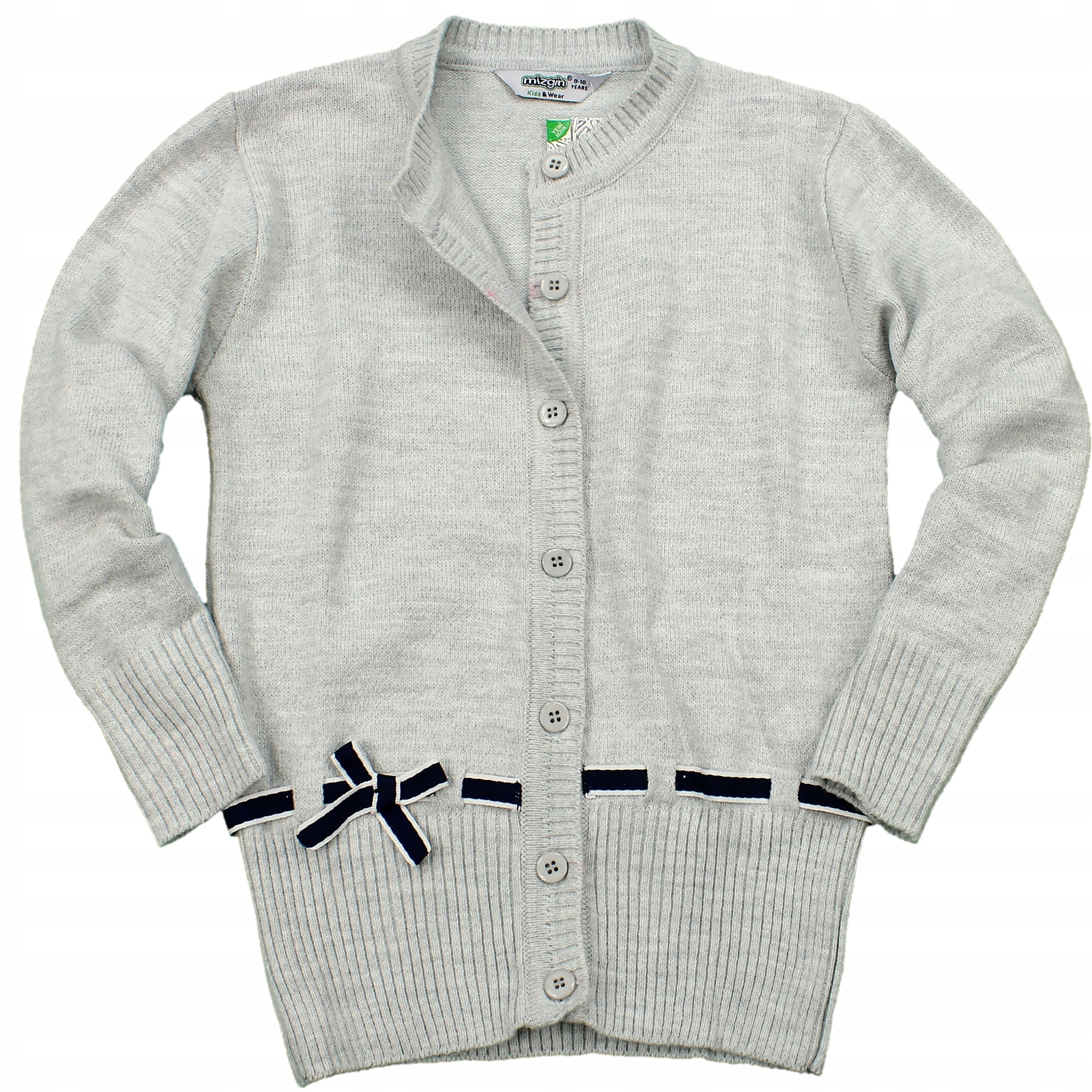 SVETER Cardigan jumper sveter SIVÁ 158/164 GH379