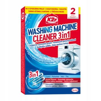 K2r Средство для чистки стиральных машин 2шт 75г