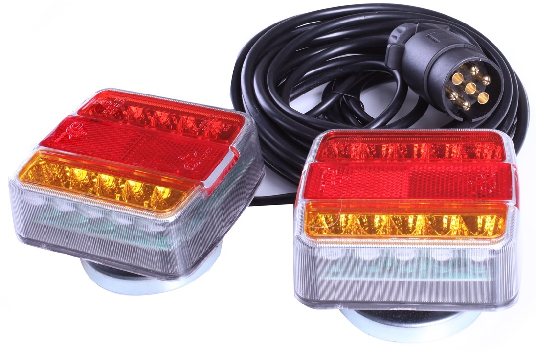 комплект лампа led мост магнит прицеп 7m лампы