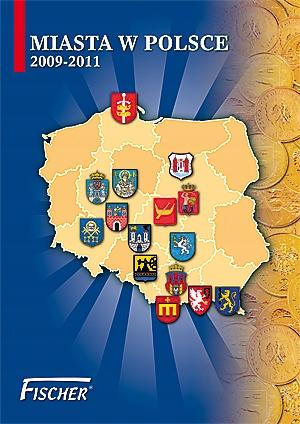 Fischer Album na minciach 2 PLN City v Poľsku 09-11