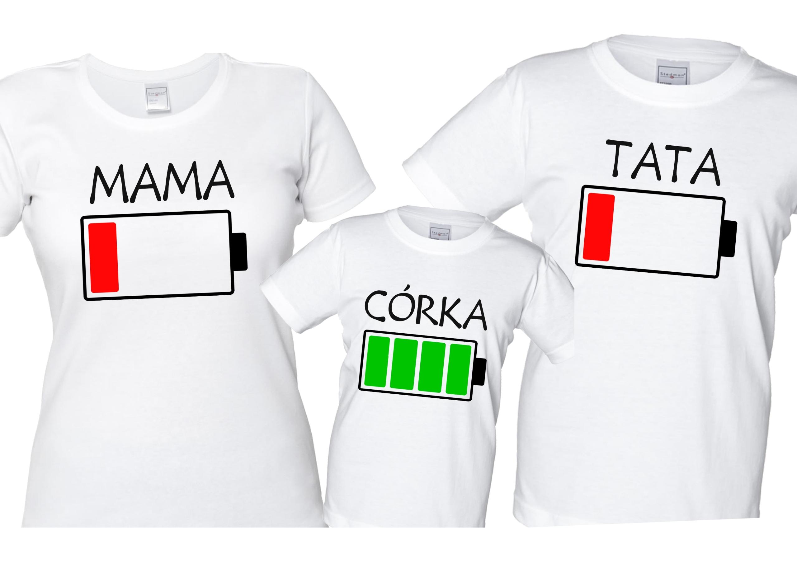Súbor t-shirts PRE RODINU, mamu, otca, syna, dcéru