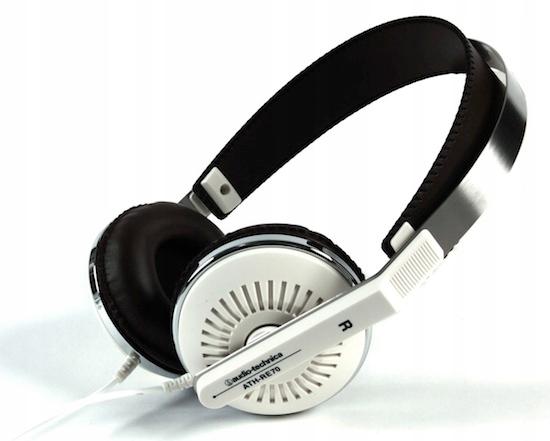 Audio-Technica ATH-RE70 RETRO Slúchadlá Biela