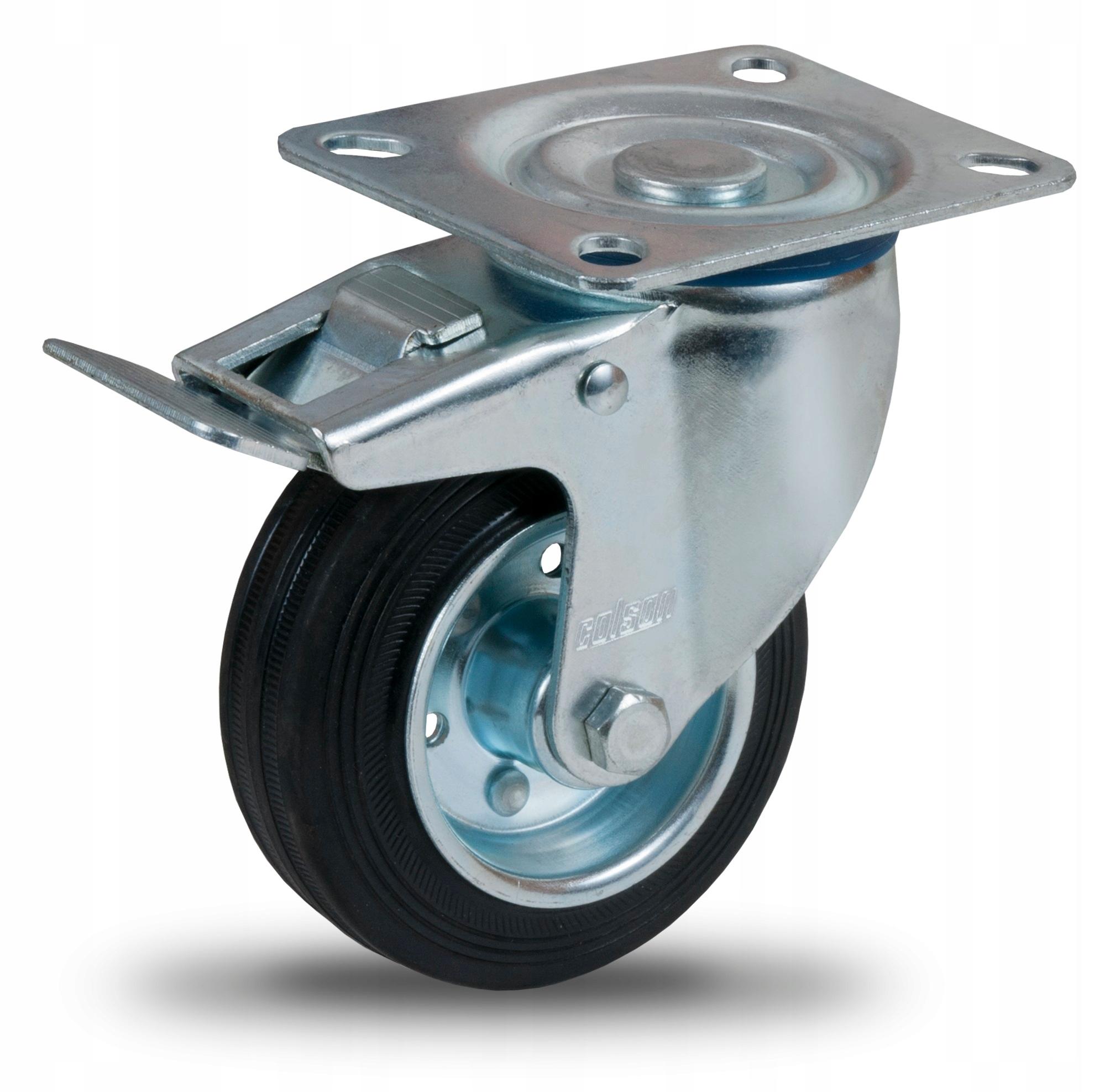 Otočné kolesové brzdy 100mm, Trolley kolesa !!
