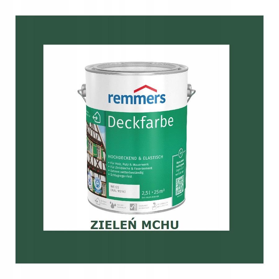 REMMERS DECKFARBE 10 l MOSS GREEN
