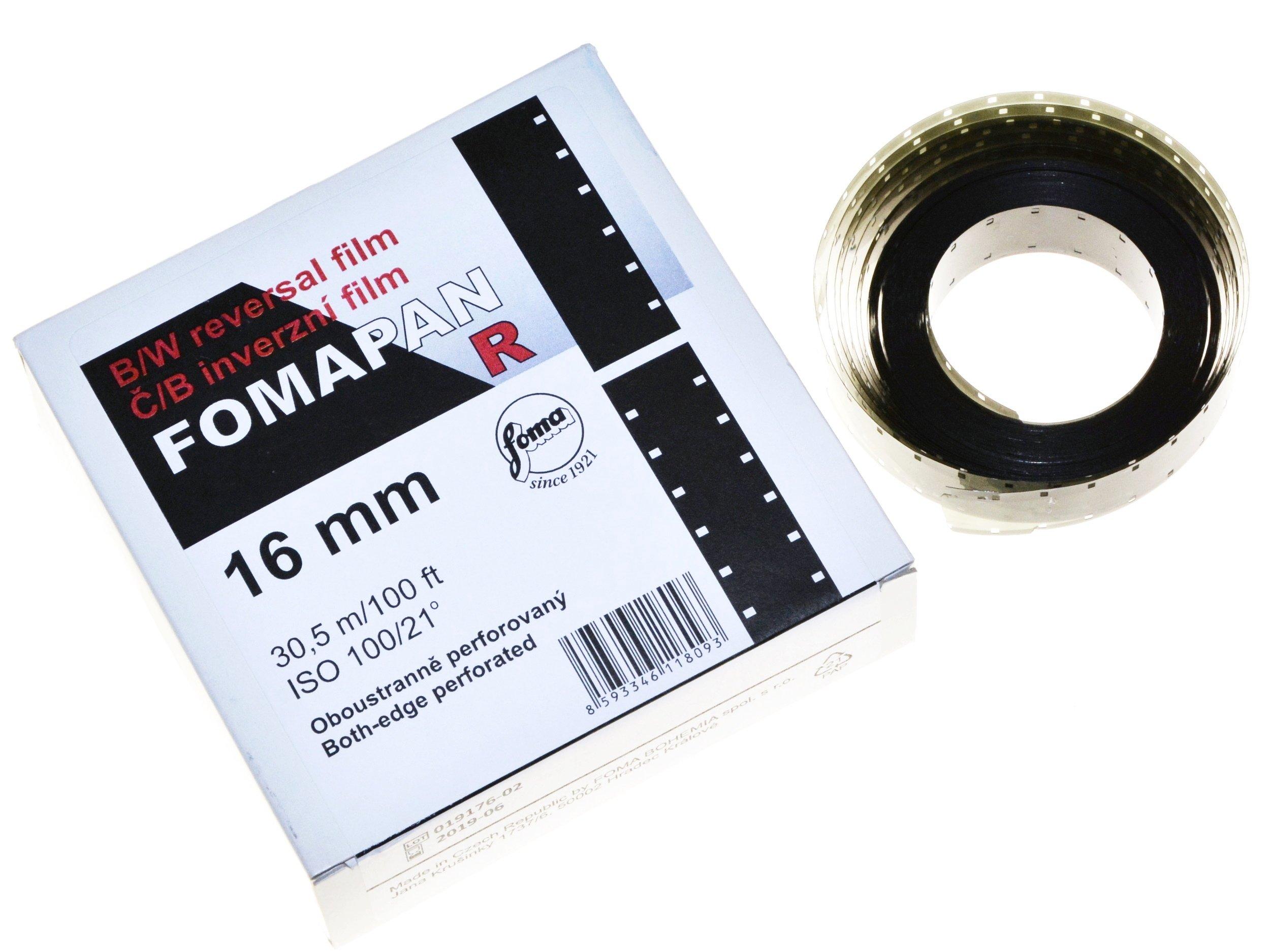 Fomapan R100 Movie štandard 16mm Reverzibilné fotoaparáty