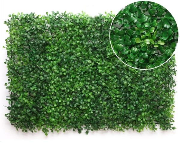 Zielona Ściana Rośliny Sztuczny Żywopłot Balkon
