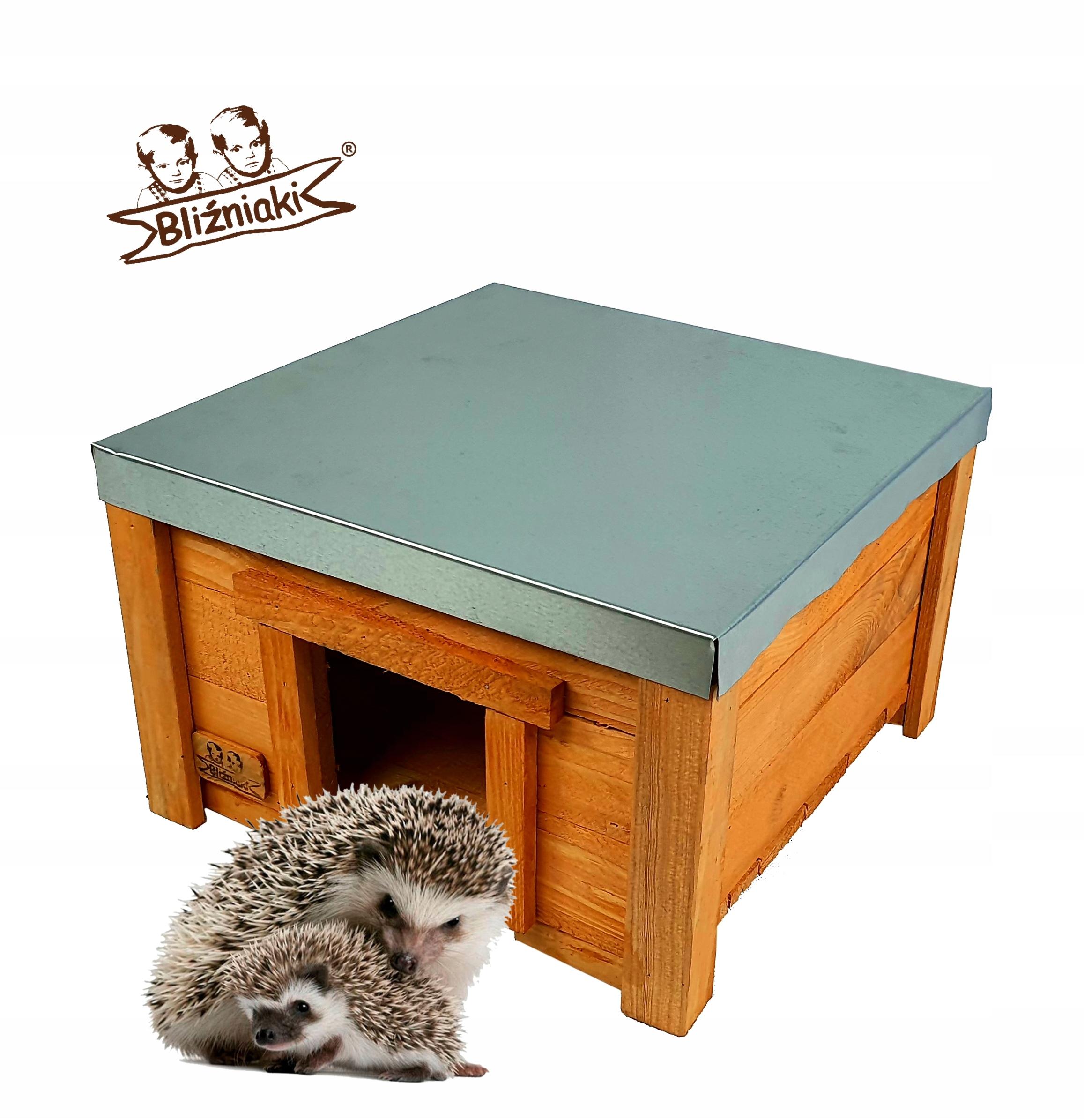 Drevenica pre vášho JEŽEK Úkryt Box na hniezdenie
