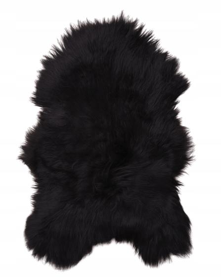 Koberec Pleť Fleece XXL Black Ostrov 130-150 cm