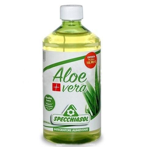 Aloe-100% aloe Vera šťava 1000 ml bez cukru