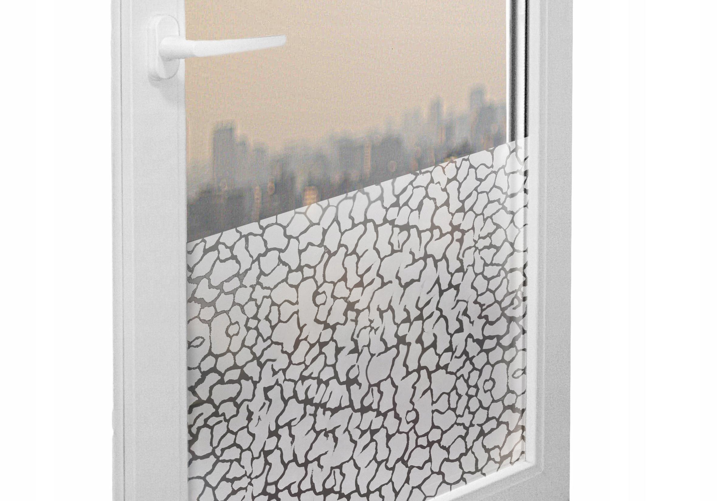 Statické okná zafarbené sklo Lava 45x50 g5