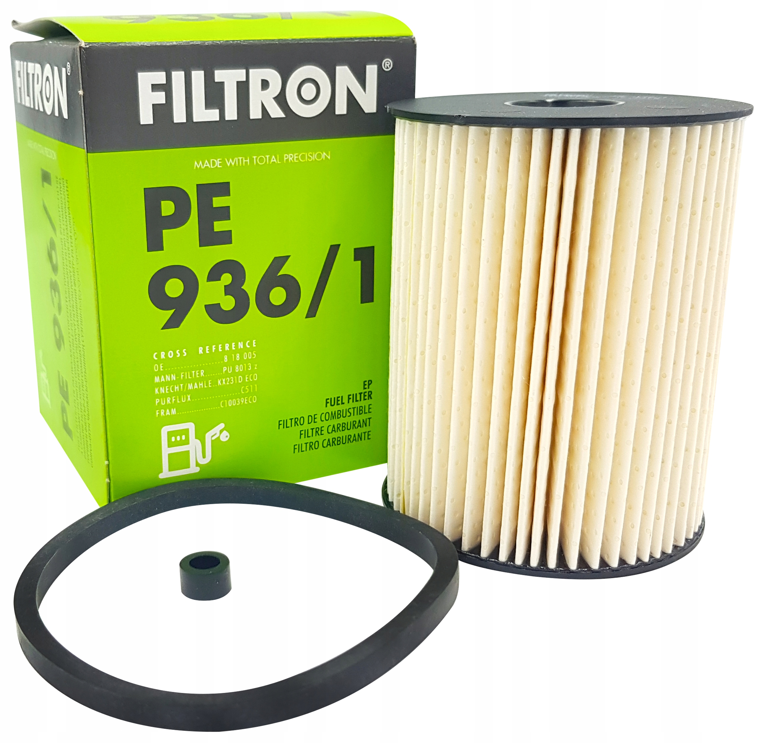 фильтр топлива pe9361 к opel zafira b 17cdti