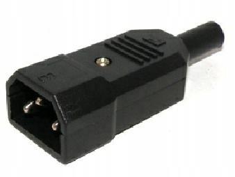 Купить Компьютерный 3-контактный разъем переменного тока к кабелю 0454 на Otpravka - цены и фото - доставка из Польши и стран Европы в Украину.