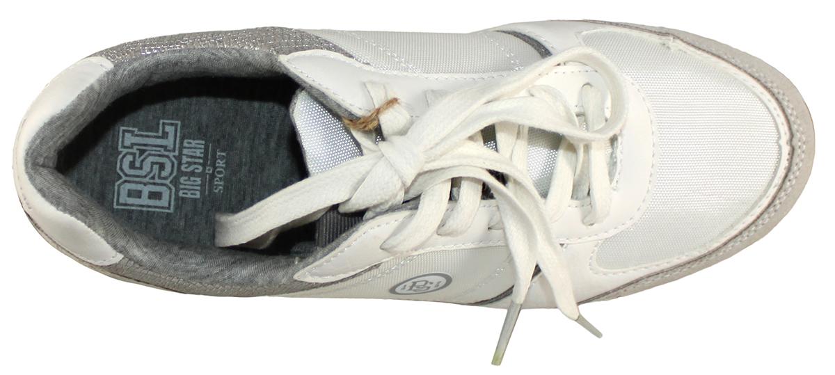 BIG STAR W274712 trampki tenisówki 41 białe