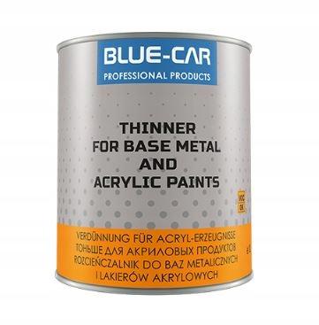 BLUE-CAR РАСТВОРИТЕЛЬ 500 МЛ 0,5 Л