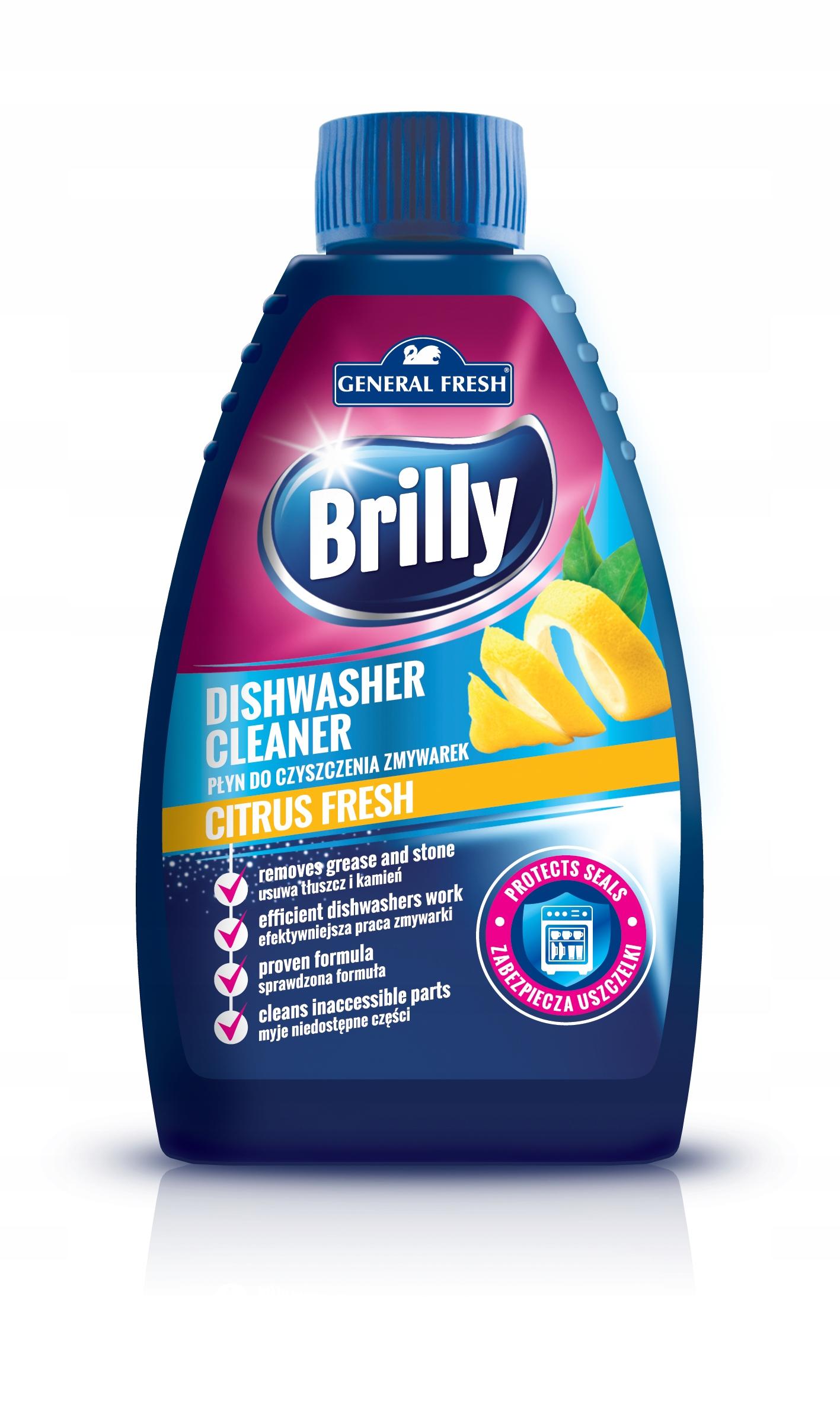 General Fresh жидкость для очистки посудомоечной машины Лимон