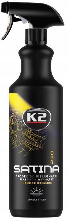 K2 SATINA PRO туалетный коврик для кокпита SUNSET FRESH 1L