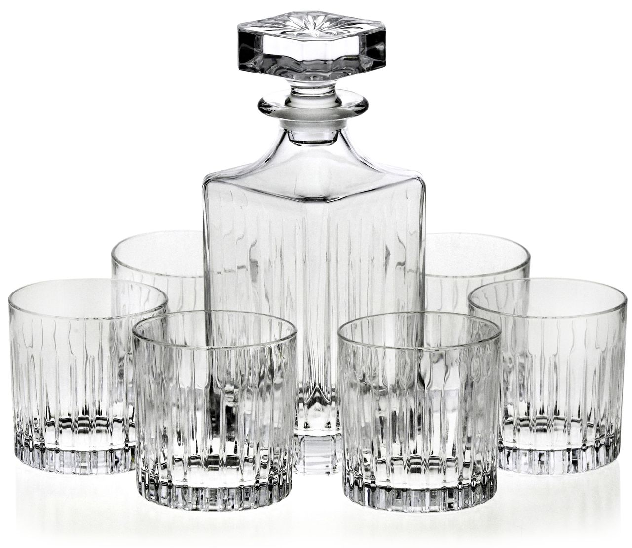 Zestaw karafka szklanki do whisky RCR TIMELESS 6+1