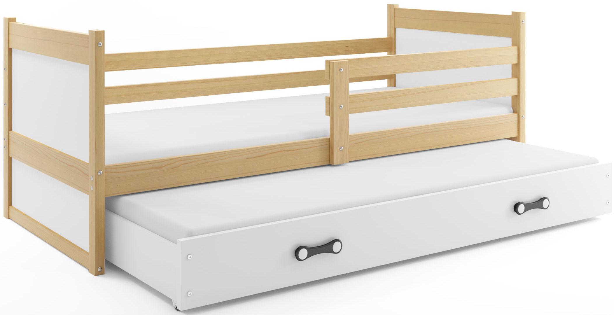 Łóżko RICO wysuwane piętrowe dla dzieci 190x80