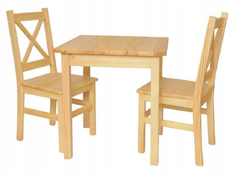 Súprava 60x60 Stôl + 2 stoličky, Kuchyne, Farby