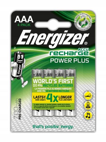 AKUMULATORKI baterie ENERGIZER R3 AAA 700mAh x 4
