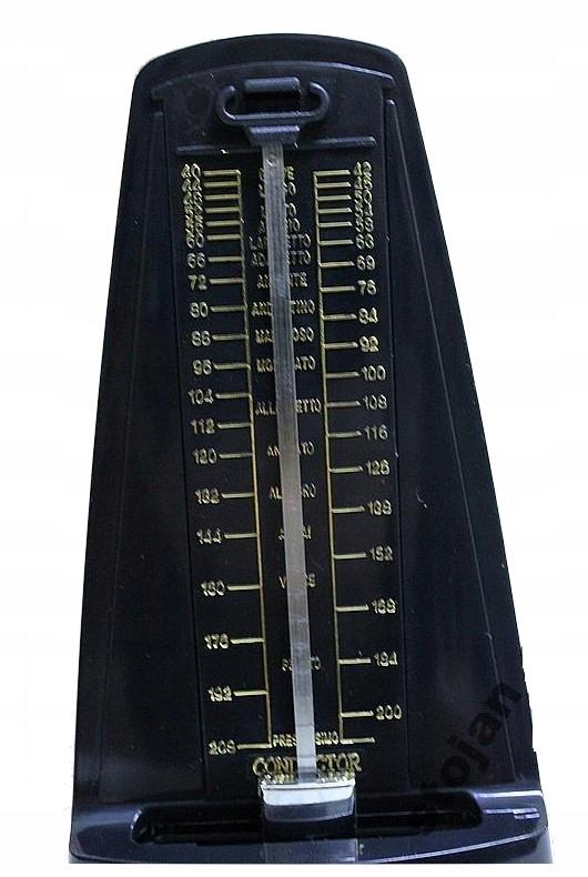 Metronome mechanické s zvončekom - pekná kvalita