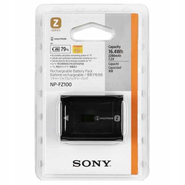 Купить Оригинальный аккумулятор Sony NP-FZ100 A7 A7R III A9 на Otpravka - цены и фото - доставка из Польши и стран Европы в Украину.