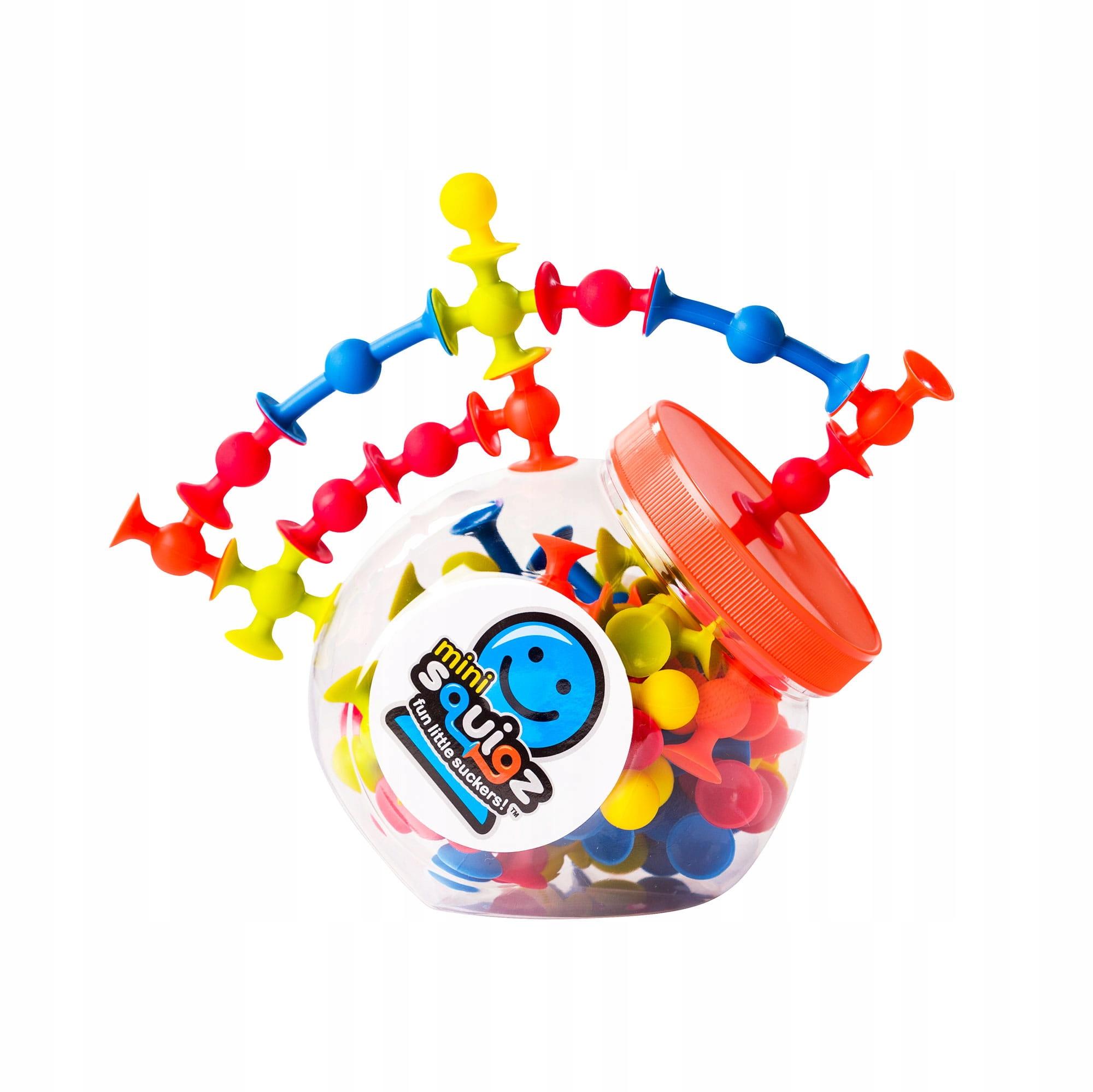 Fat Brain Toys Mini Squigz Przyssawki 75El, FA107
