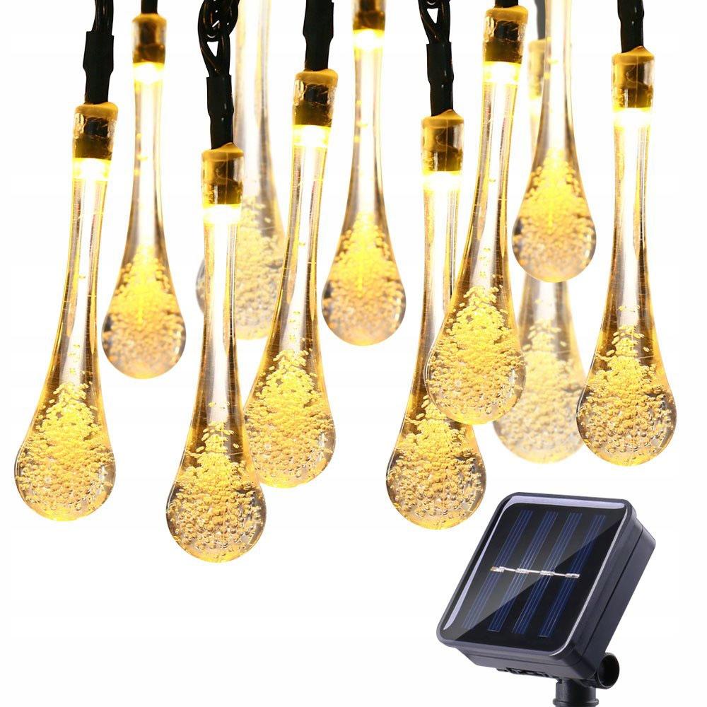 30 Led 6.5 M Лампы На Солнечных Батареях Садовые Лампа Накаливания Лампа